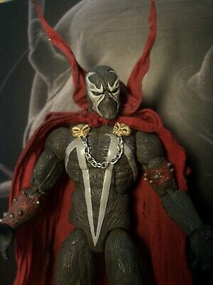 Custom Painted Marvel Legends Mezco 1/12 Mcfarlane Spawn Al Simmons HEAD ONLY