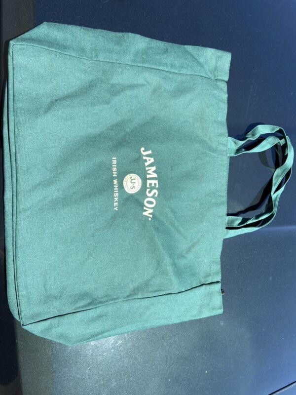 NEW JAMESON IRISH WHISKEY Canvas Tote Bag Utility