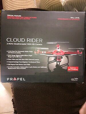 Impel Cloud Rider With HD Camera 2.4Ghz PL-1442 Drone Quadrocopter Brand New