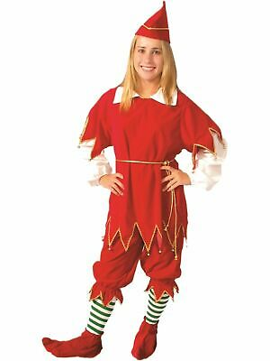 Santa's Little Helper Costume Women M (8-10) NEW