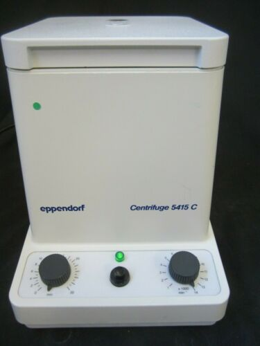 Eppendorf Centrifuge 5415C -works- BIN $139!  Free Shipping!