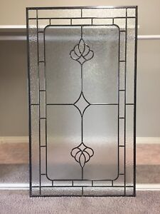 3 stained glass windows - in great condition