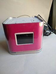 Venturer Dual Alarm Clock Radio with iPod iPhone Dock Pink No. CR8030iE5