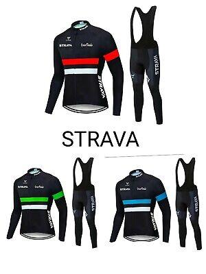 equipacion invierno strava maillot culotte mtb ciclismo btt
