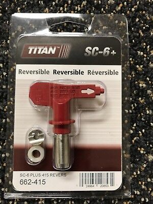 Titan Sc6 415 Reversible Spray Tip 662-415 Or 662415 Oem 5 Pack Free Shipping