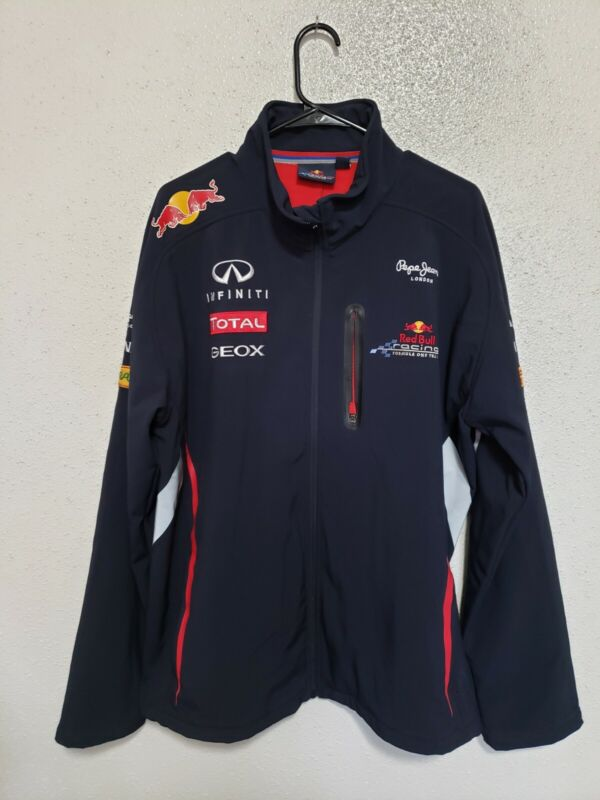 AUTHENTIC PEPE JEANS INFINITI RED BULL RACING F1 TEAM Men Size 2XL