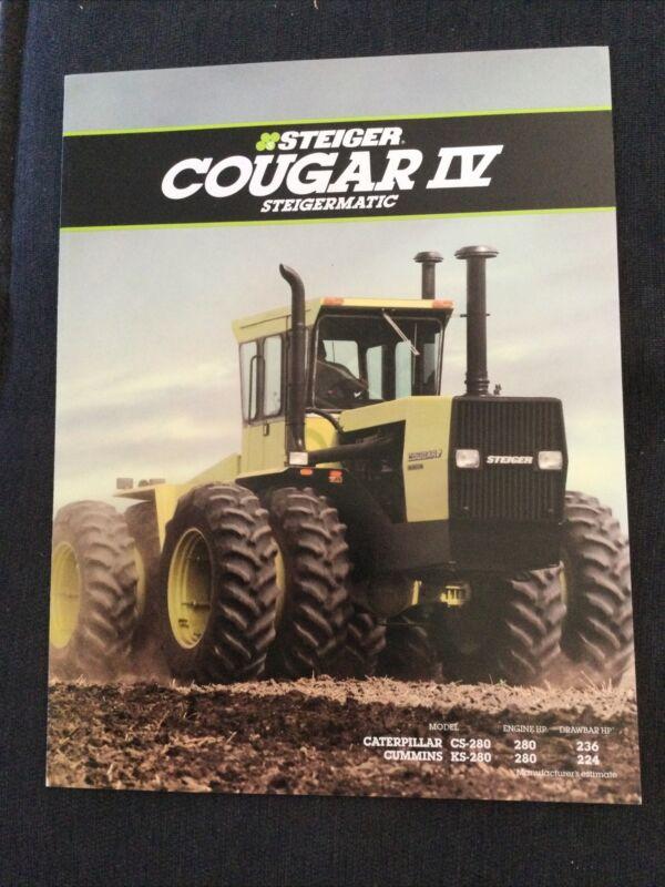 Steiger Cougar Steigermatic PTA Tractor Brochure