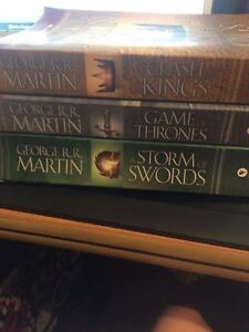 First 3 game of thrones book