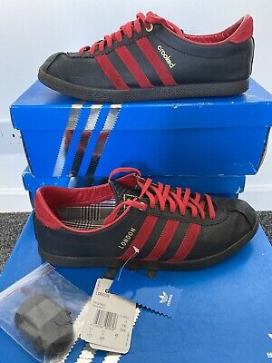 Adidas Consortium London Crooked Tongue Red Black Worn UK 11 In OG Box 2009