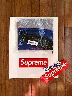 F/W 2017 Supreme New York x Scarface Blimp Tee Shirt Grey Size Large NEW!!