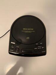Sony Dream Machine FM/AM CD Dual Alarm Clock Radio ICF-CD815 Works Great