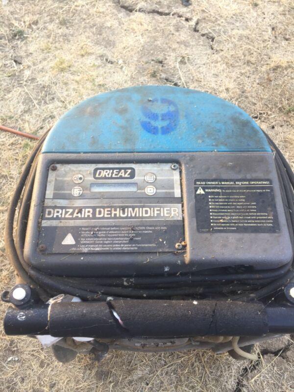 Drieaz commercial Dehumidifier, Blue