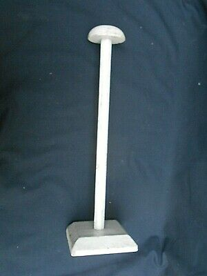 Vintage Shop Display Wooden HAT STAND Millinery (14.25