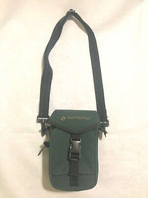 Nice Vintage Samsonite Messenger Shoulder Bag Camera Cell Phone Wallet Keys