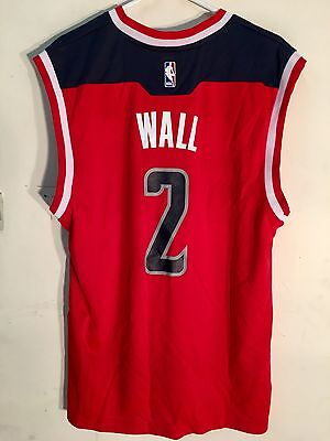 Adidas Nba Jersey Washington Wizards John Wall Red Sz M