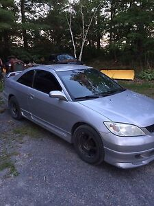 2005 Honda Civic manual 5 speed