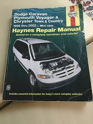 haynes car manual Dodge, Plymouth, Chrysler 1996-2002