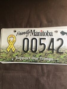 Manitoba support the troops collector plates