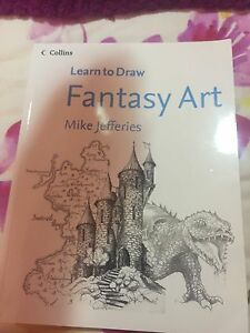 Fantasy Art Drawing Book Maryland Newcastle Area Preview