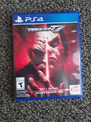 Tekken 7: Day 1 Edition (Sony PlayStation 4, 2017) MINT CONDITION