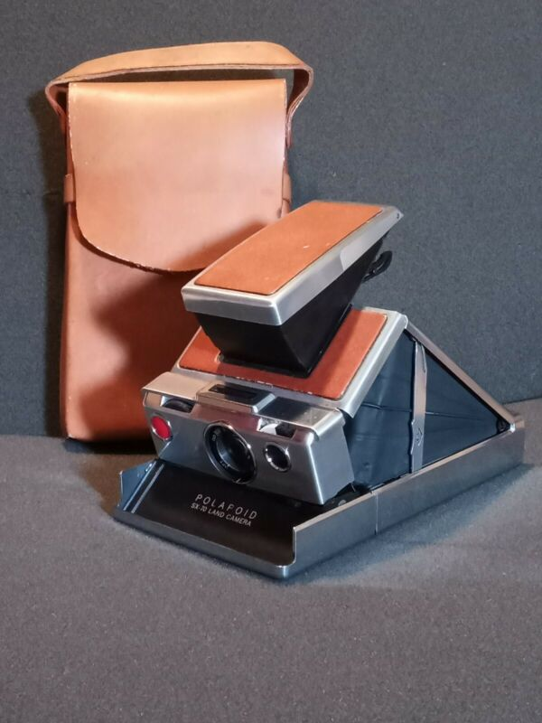 Vintage Polaroid SX-70 Land Camera With Original Pouch| Untested |Good Condition