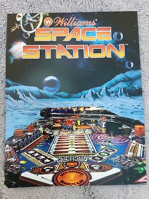 Space Station Pinball Machine Flyer