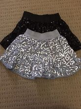 GIRL'S SEQUIN SKIRTS - SIZE 3 Stirling Stirling Area Preview