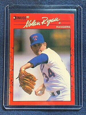 1990 Donruss NOLAN RYAN Baseball Card #166 Texas Rangers MINT - Free Shipping!