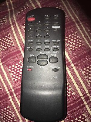 Genuine Funai NA351 Remote Control - Tested Working With Battery - Na Control Cover