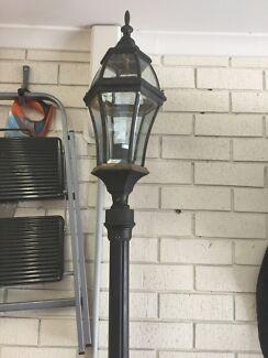 Old English st lamp