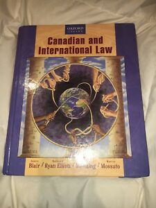 Canadian and International Law