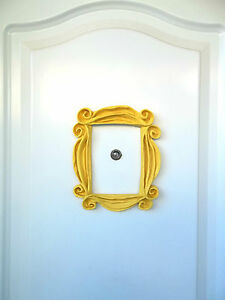 image is loading serie friends tv show frame awesome yellow peephole