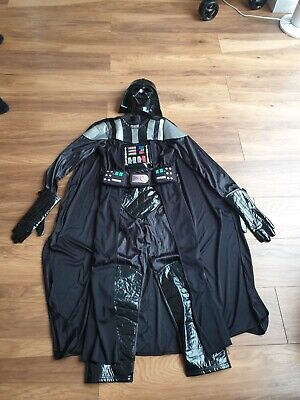 Star Wars Darth Vader Costume 9-10 Yrs