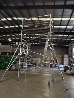 Double Size 5M Aluminium Mobile Tower On Sale $2235 Limited Time