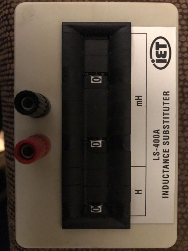 IET LS-400A Inductance Decade Box Used