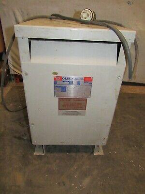 Olsun 3 Phase Transformer 29099 105029-1 3.6 Kva 60 Hz