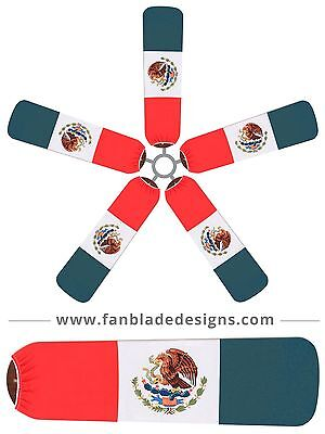 Mexican Flag Ceiling Fan Blade Covers Iris Ceiling Fan