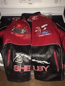 Shelby Ford Racing Leather Jacket