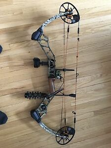 Mission Blaze compound bow made by Mathews.