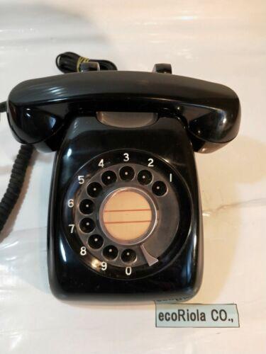 {Vintage} Black Phone Ornament Interior Retro Antiques Japanese style Japan