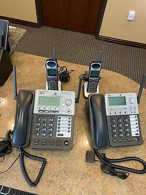 Att Synj Sb67138 Business System Phones 4 Set