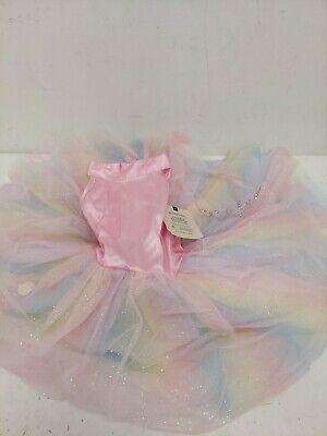 Pottery Barn Kids Sparkle Ballerina Halloween Costume 4-6 Years (STAIN) NWT