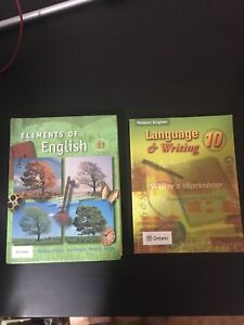 Gr. 11  And Gr. 10 English Textbooks