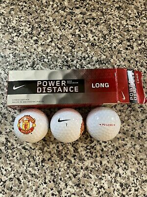 Manchester United Nike Golf Balls Pack Of 3