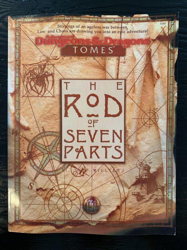 AD&D: Tomes - The Rod Of Seven Parts - TSR 1145 - PBR