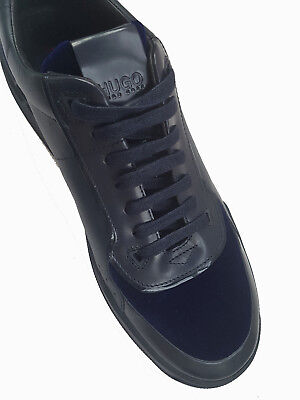 $380 Authentic Rare HUGO HUGO BOSS Men's  Low Top Lace Up Fashion Sneakers