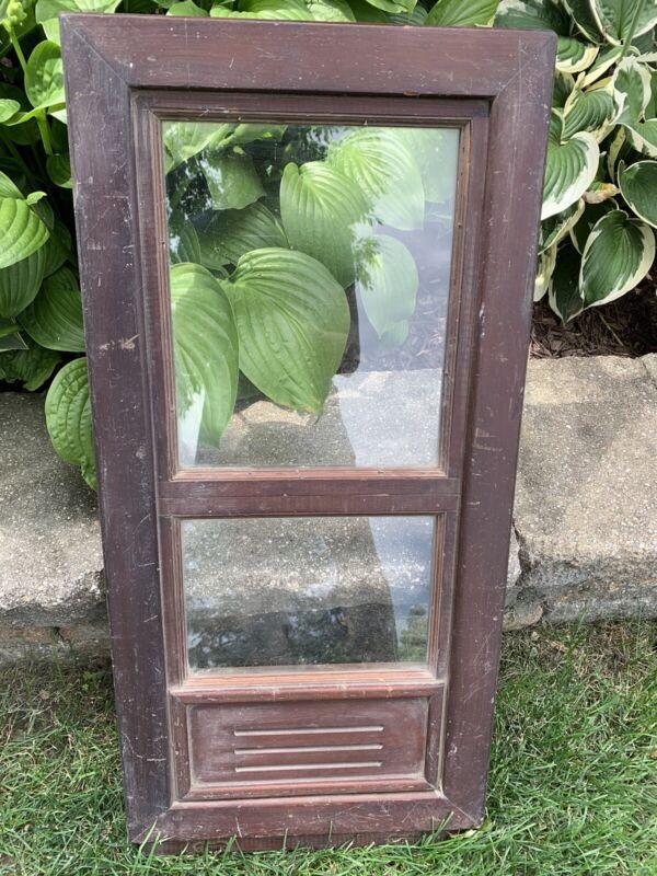 Antique Vintage Wood Window Frame