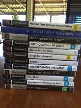 12 PlayStation 2 games for sale Warwick Southern Downs Preview