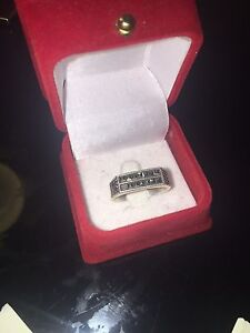 Diamond & Silver Ring Alexander Heights Wanneroo Area Preview