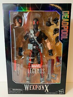 Marvel Legends Deadpool Agent of Weapon X 12 inch figure SEALED